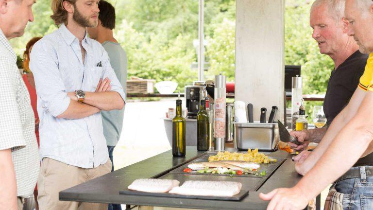mobile indoor & outdoor Küche - Holzfeuerküche